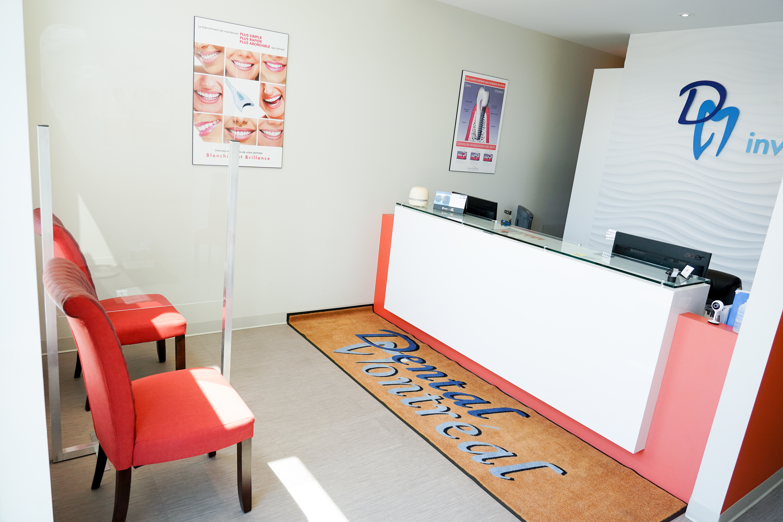 Dental Montreal Vaudreuil Reception